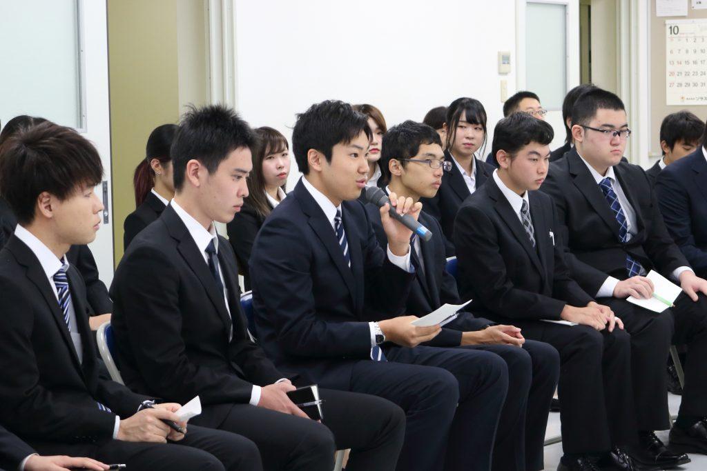 学生と市長の対話集会♪